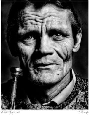 John Claridge's shot of trumpeter Chet Baker