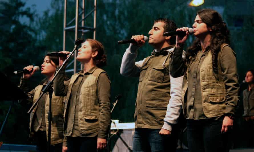 Grup Yorum in 2013.