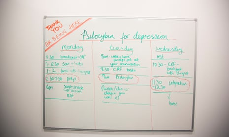 A noticeboard at Imperial College's Centre for Psychedelic Research.