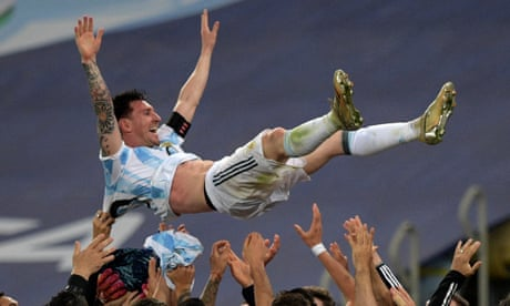Argentina 1-0 Brazil: Copa América final – as it happened