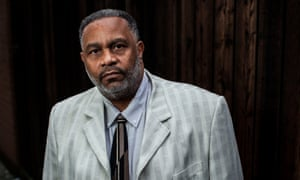 Anthony Ray Hinton, who spent 30 years on death row for a murder he didn't commit.