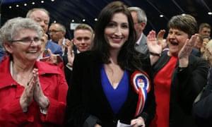 The DUP MP Emma Little-Pengelly.