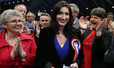 The DUP MP Emma Little-Pengelly.