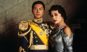 John Lone and Joan Chen in The Last Emperor.