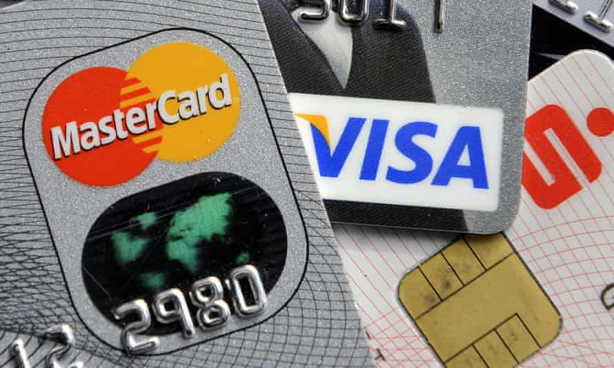 UK consumers made their first net repayment in credit card borrowing for almost seven years.