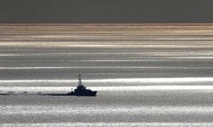 A patrol ship