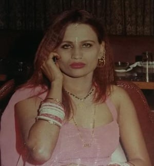 Anu Mukherjee before the attack.