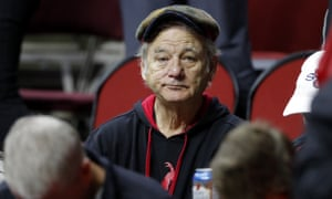 Bill Murray, watching Minnesota and Louisville at this year's NCAA tournament, sums up the fears of every March Madness fan