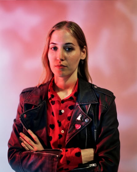 Break-out artist Hatchie has so far opted to stay in Brisbane.