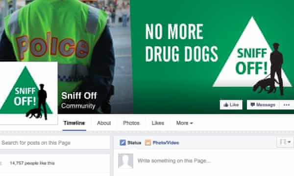 The NSW Greens' Sniff Off Facebook page