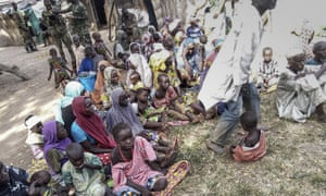 People rescued from Boko Haram