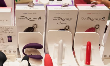 The We-Vibe booth is pictured here on day two of the Sexual Health Expo, held at the Universal Hilton in Los Angeles