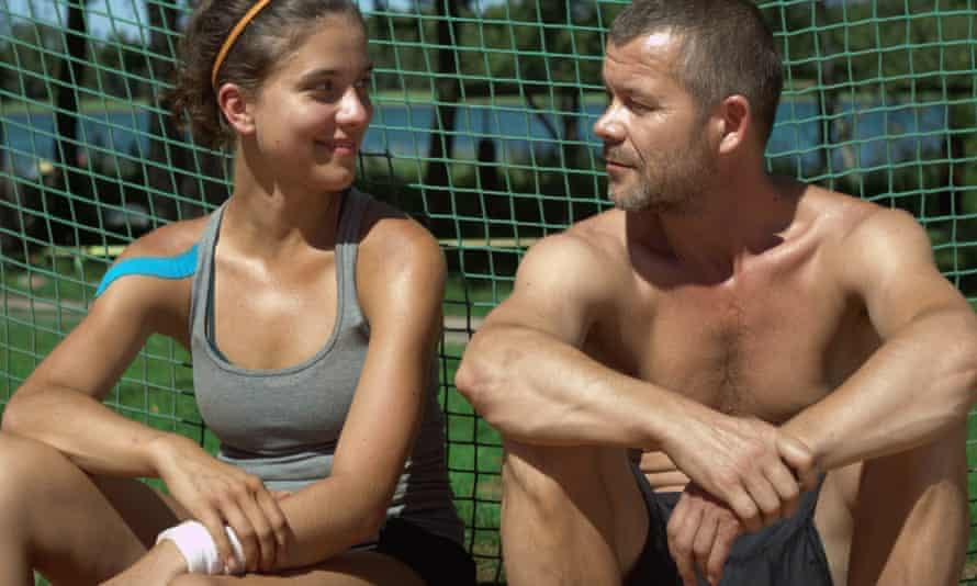 Borderline inappropriate … Wiktoria and Maciej.