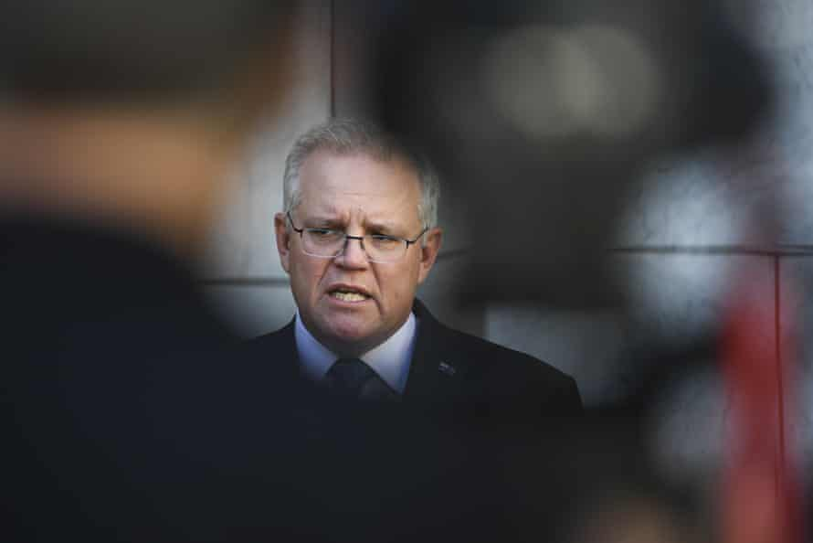 The prime minister, Scott Morrison, says 95% vaccine coverage is needed.