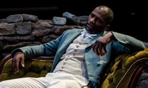 Marc Small plays Arthur Huntingdon in a 2017 production of The Tenant of Wildfell Hall at the York Theatre Royal. Anne Brontë's character was 'a vicious, entitled man-child', writes Kathryn Robertson.