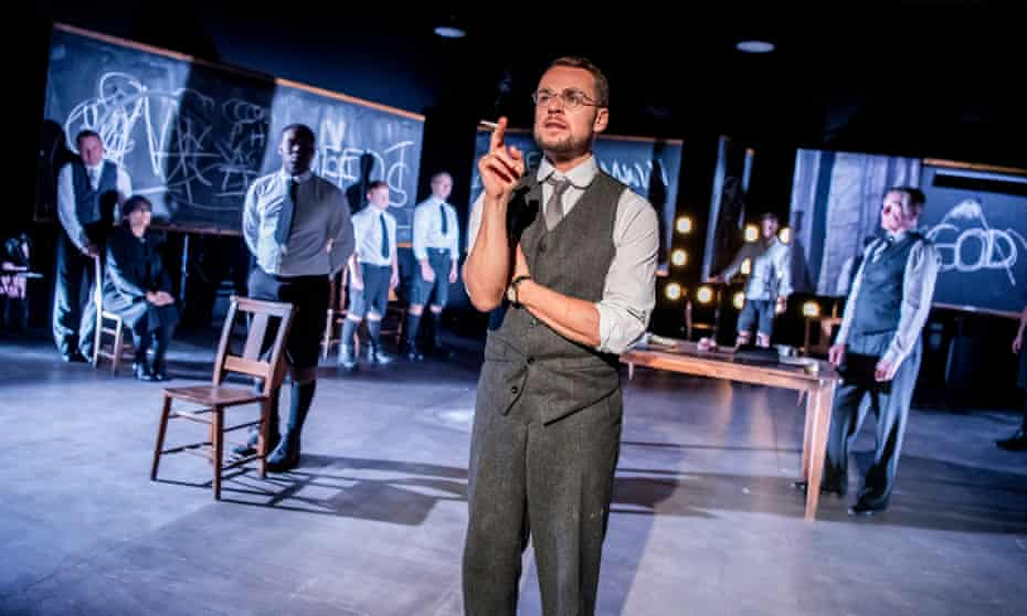 'What good can one man do?' ... Alex Waldmann as the Teacher in Youth Without God.