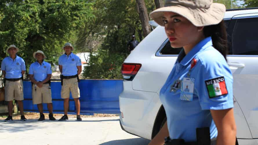 Acapulco's tourist police.