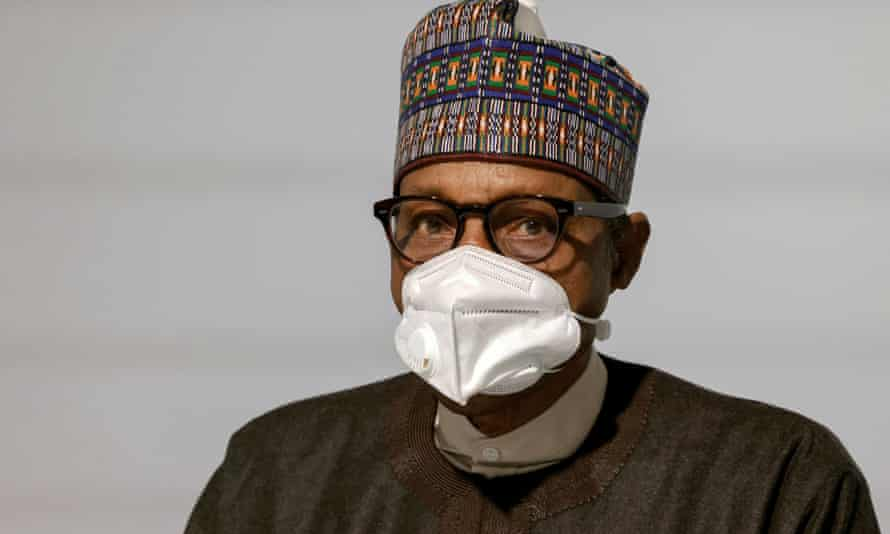 Muhammadu Buhari head and shoulders
