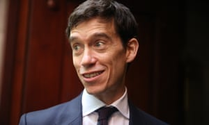 Conservative politician Rory Stewart is seen in Westminster after the ruling that the prorogation of parliament was unlawful.