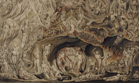 William Blake's A Vision of the Last Judgment,1808.