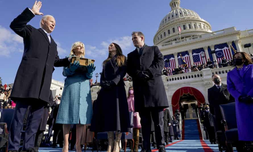 Joe Biden is sworn in as 46th president of the United States