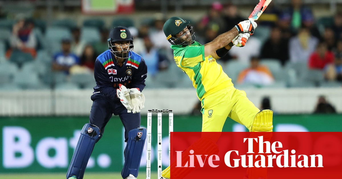 India set Australia 303 to win third one-day international – live!