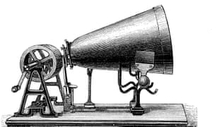 A phonautograph.