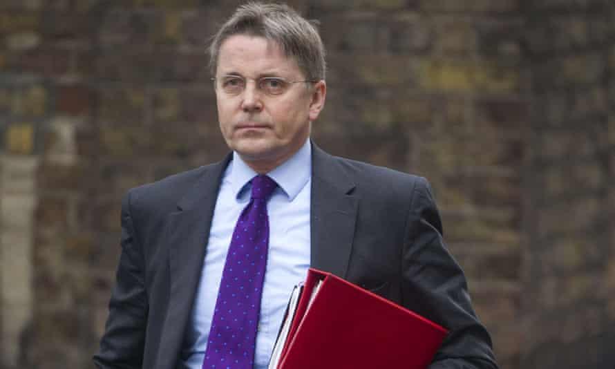 Jeremy Heywood in Downing Street