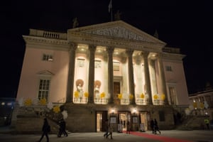 Reopening night at the Staatsoper Unter den Linden, Berlin.