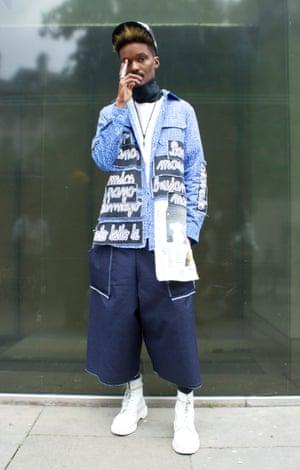 Junior Sealy, 28, fashion stylist.