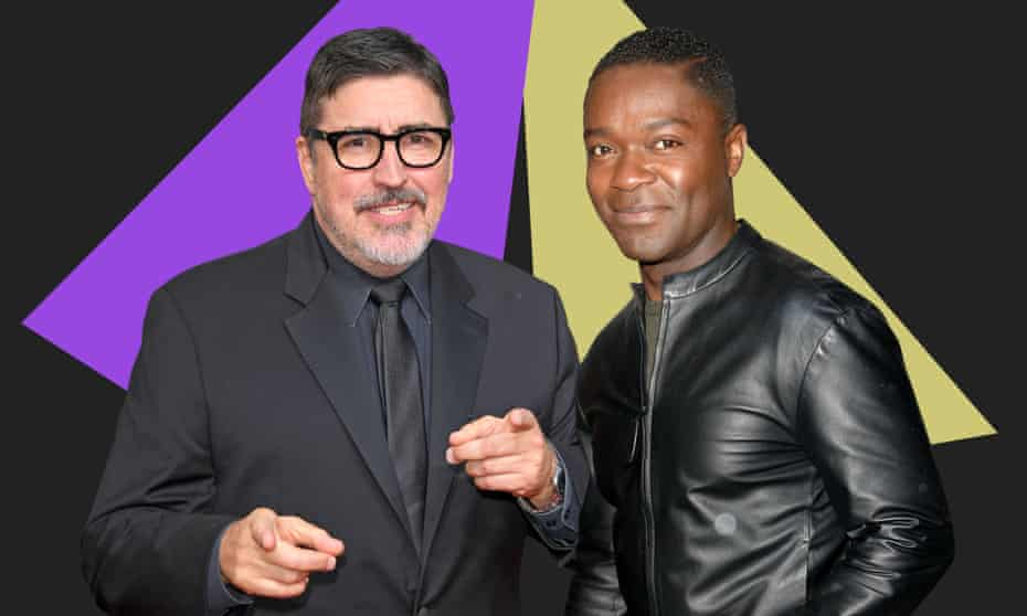 'I am flabbergasted by what I get to do for a living.' David Oyelowo (right) and Alfred Molina.