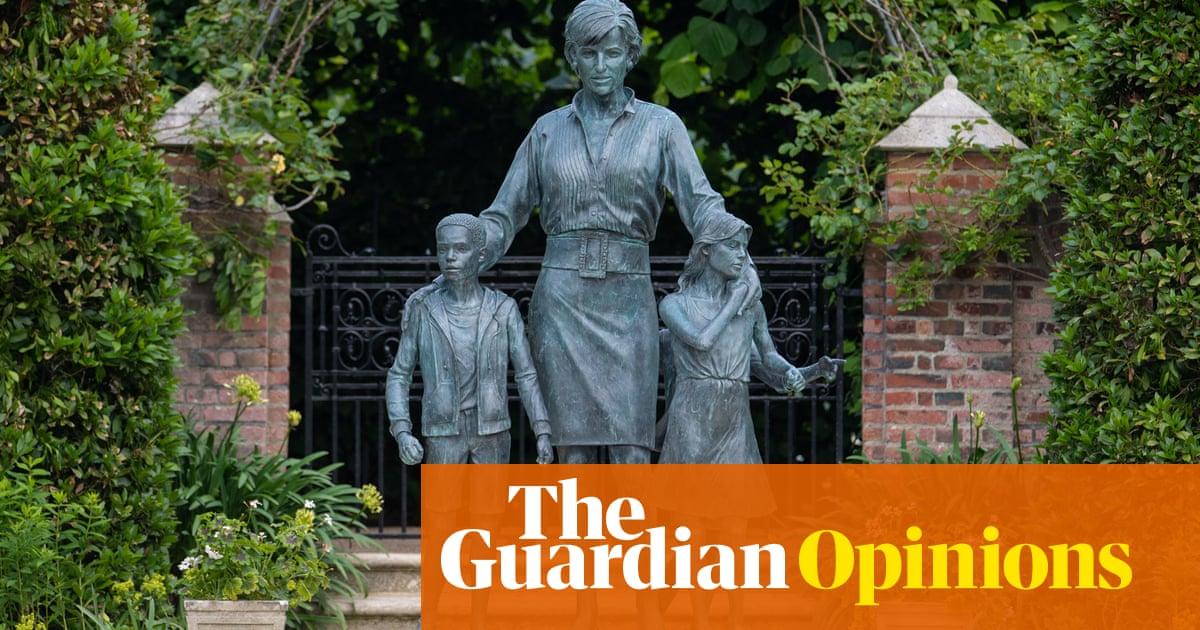 An awkward, lifeless shrine – the Diana statue is a spiritless hunk of nonsense