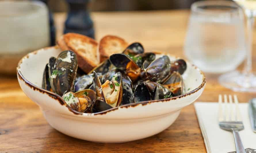 Fish Cottage Sandsend mussels dish1