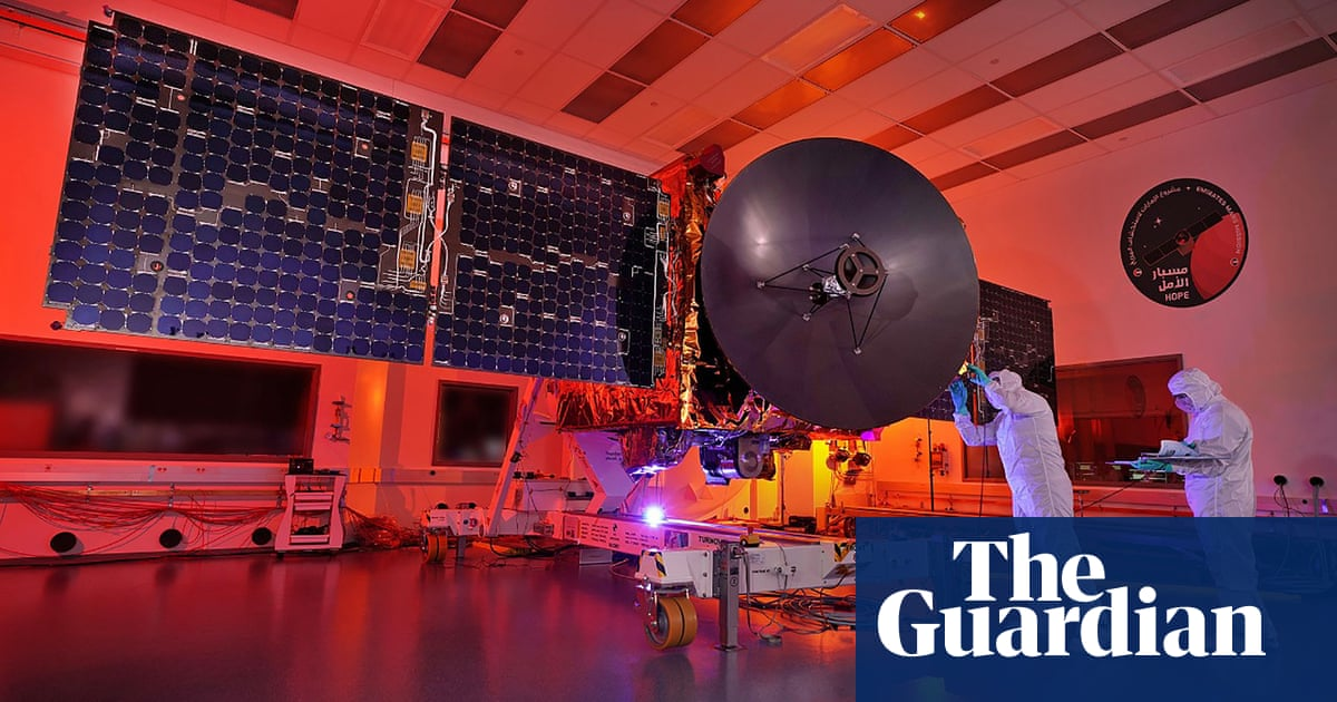 UAE mission to Mars on course to arrive in February 2021 - the guardian