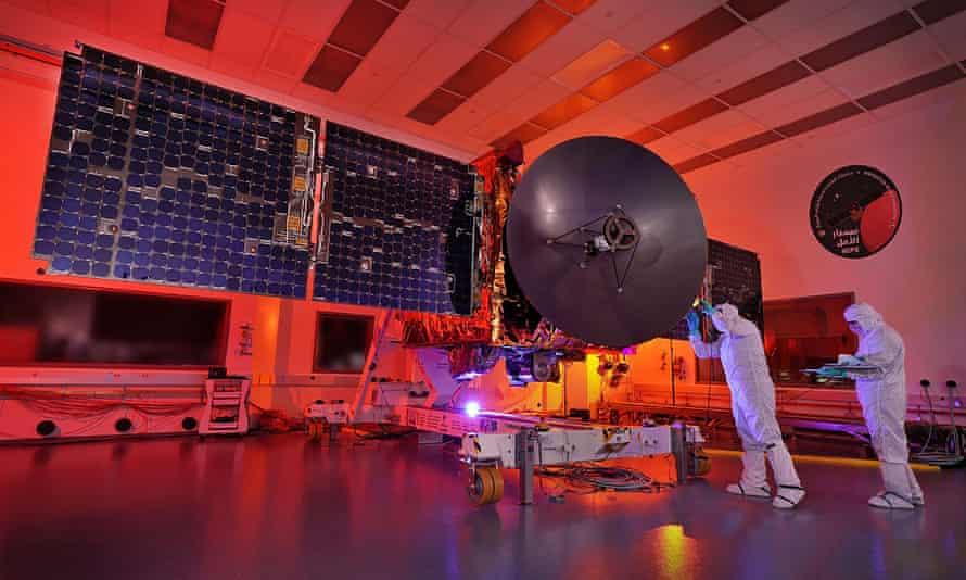 The Emirates Mars Mission (EMM) base control.