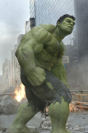 As the Hulk in The Avengers.