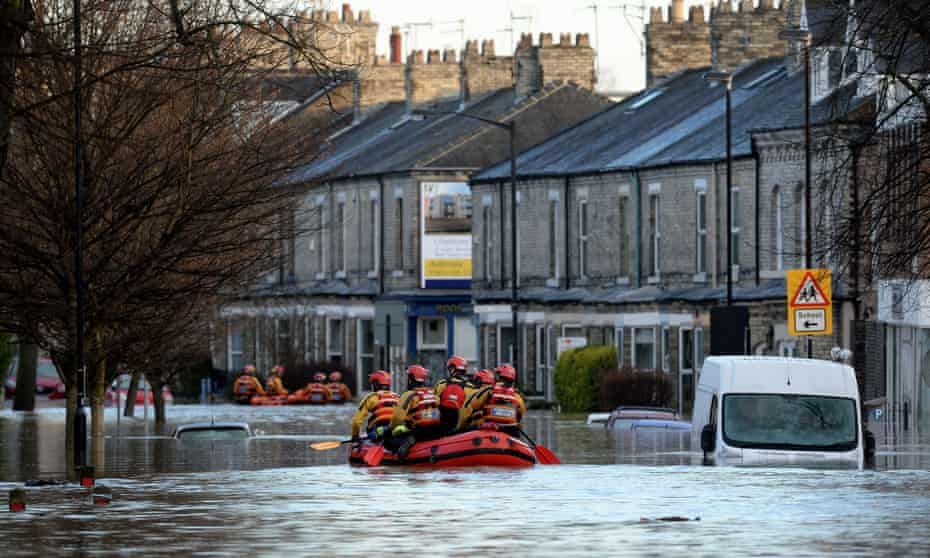 Flooding in York.