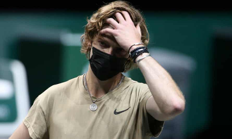 Andrey Rublev is ambivalent to the vaccine because he would still have to remain in a tournament bubble if he had it.