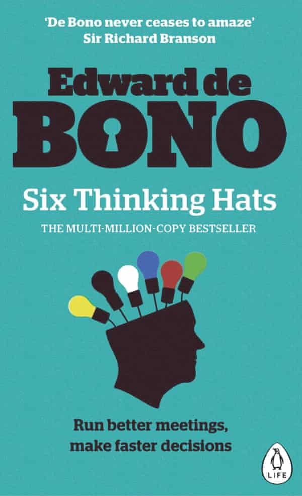 Six Thinking Hats, 1985, found favour with the business world