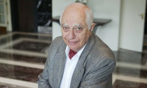 Bernard Lewis in 2002. When painted as pro-western, he responded: 'Is that a crime? I do not believe in the original sin of the west and the innate sinlessness of the rest.'