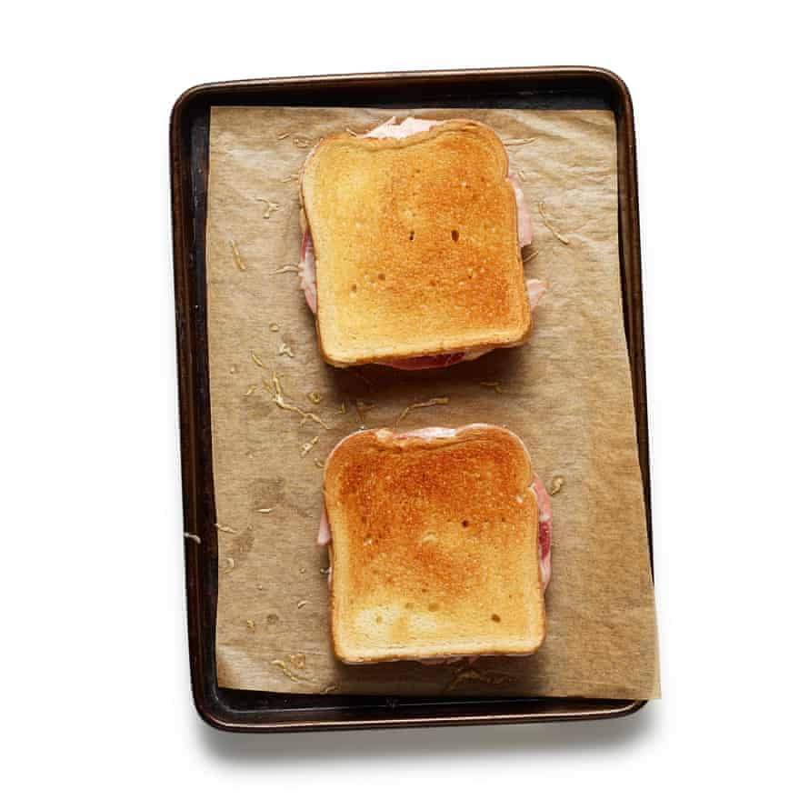 The perfect croque monsieur step 8
