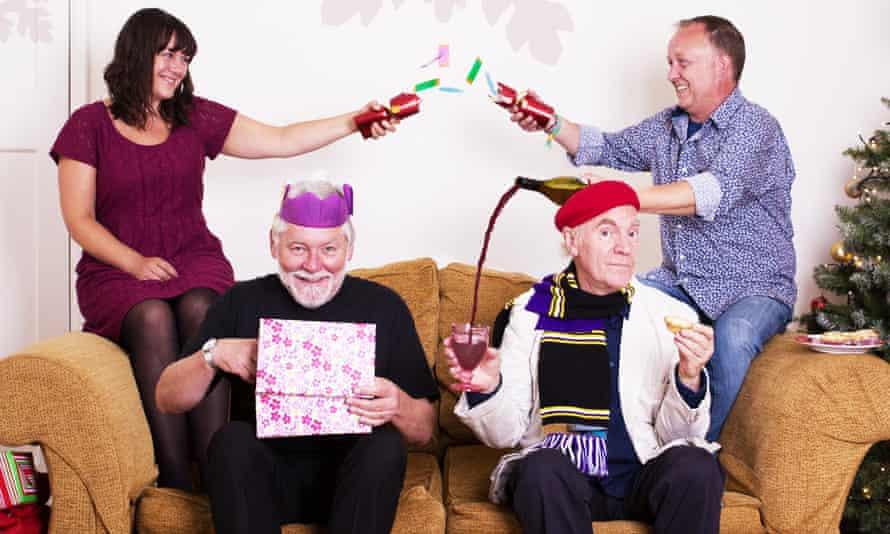 Albion Christmas Band Press publicity portrait supplied by PR