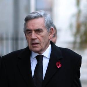 Gordon Brown, Former Prime Minister