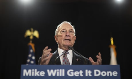 Michael Bloomberg is trying to buy the presidency – that should set off alarms