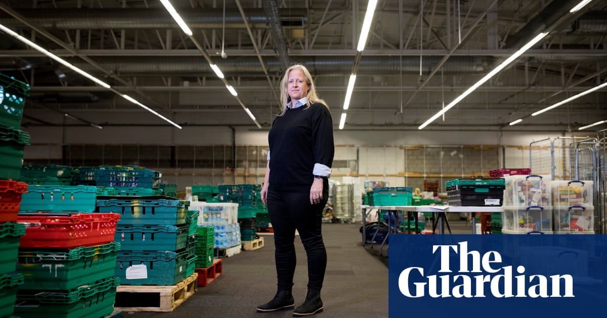 Food bank supremo Emma Revie: 'This is the best job in the world – and it shouldn't have to exist'