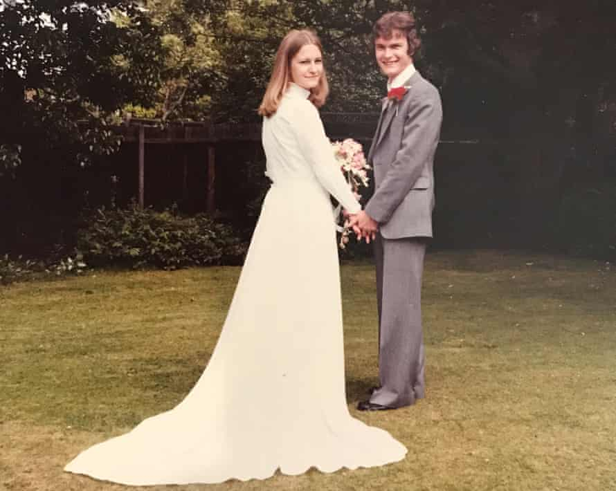 Sally and Richard Challen on their wedding day in 1979