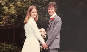 Sally and Richard Challen's wedding reception on 16 June 1979 in Surrey.