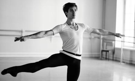 Coiled energy, obsessive artistry and a gambler's instinct … Artem Ovcharenko in Rudolf Nureyev: Dance to Freedom.