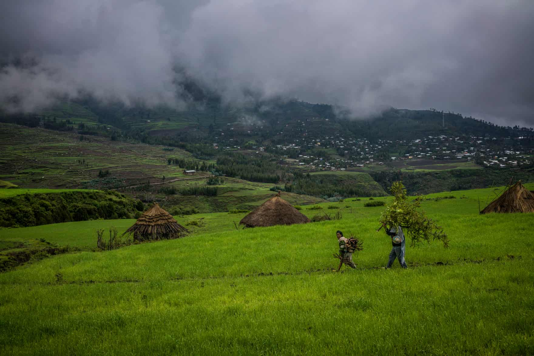 Despite their lush appearance at the peak of the unusually wet season, the northern highlands are very susceptible to dramatic swings in levels of rainfall. Coming after one of the worst droughts in decades, the rains could threaten staple cereal and vegetable crops via The Guardian