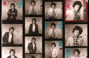 """An early contact sheet from the original 1978 """"Darkness on the Edge of Town"""" sessions in Haddonfield, New Jersey"""